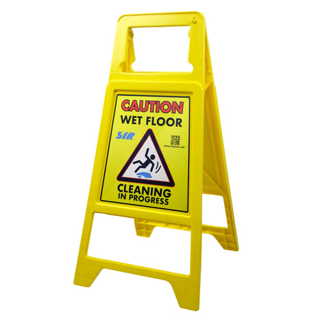 Economy Non-Tip Folding Safety Sign: 62cm high