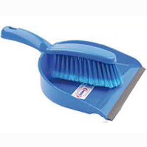 Professional Dustpan and Brush - Soft Bristles: Each