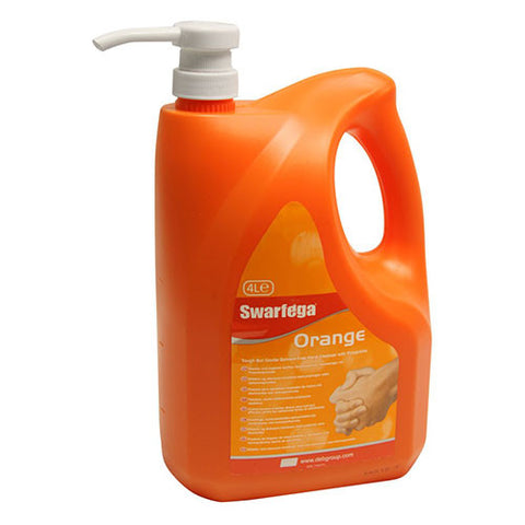 Swarfega Orange Pump Top: 4Ltr