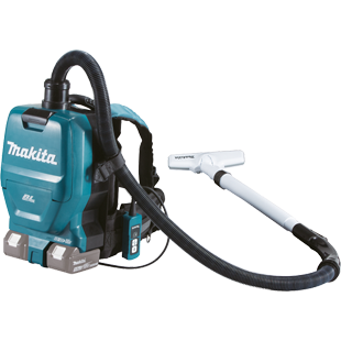 MAKITA TWIN 18V BACKPACK VACUUM CLEANER