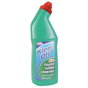 Kleenoff Pine Toilet Cleaner: 12 x 750ML