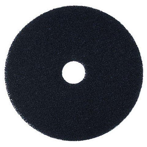 "3M™ Scotch-Brite™ Premium Black Stripping Floor Pads: 15"", 16"" & 17"" (Case of 5)"