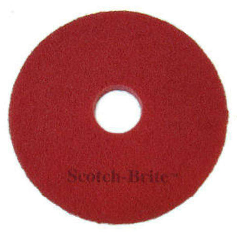 3M™ Scotch-Brite™ Premium Red Spray Cleaning Pads: 15