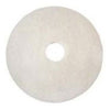 "3M™ Scotch-Brite™ Premium White Polishing Floor Pads: 15"", 16"" & 17"" (Case of 5)"
