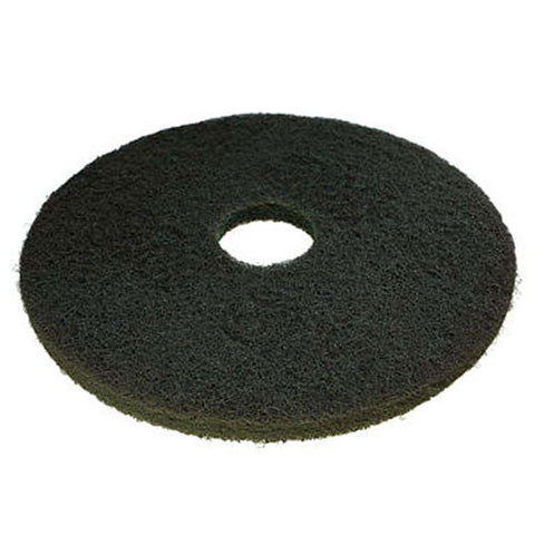 "3M™ Scotch-Brite™ Premium Green Scrubbing Floor Pads: 15"", 16"" & 17"" (Case of 5)"
