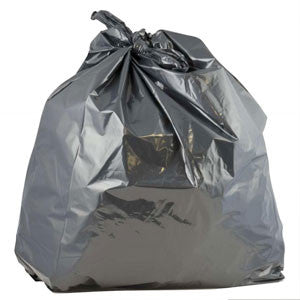 Degradable Black sacks 18x29x39: (Case of 200)