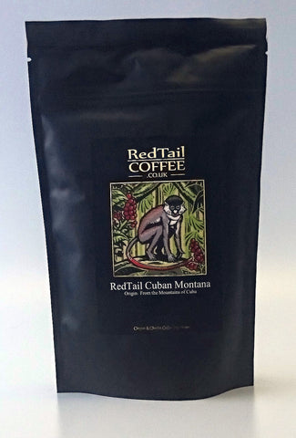 RedTail Montana Cuban Coffee 250g - From the Mountains of Cuba