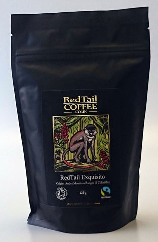 £1.00 SPECIAL OFFER for 125g RedTail Exquisito Colombian Coffee