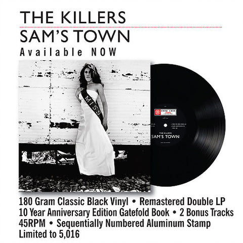 The Killers - Sam's Town 2LP (Gatefold Book)