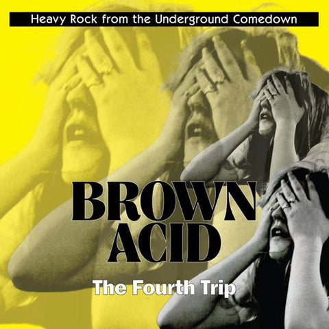 Brown Acid: 4th Trip   LP (COLOURED VINYL) / CD