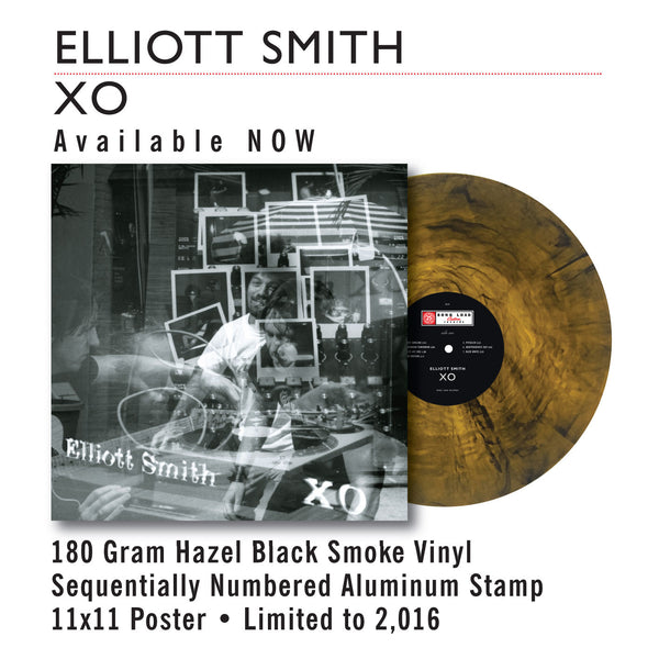 "ELLIOT SMITH - OX (HAZEL BLACK SMOKE VINYL) 12"" + POSTER"
