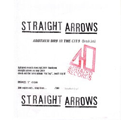 Straight Arrows - Another Day in the City   7""