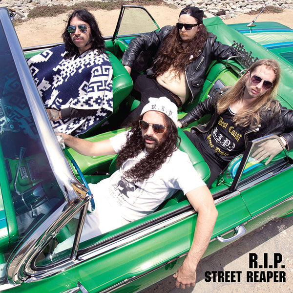 R.I.P - STREET REAPER   (COLOURED VINYL / CD)
