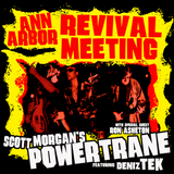 POWERTRANE: Scott Morgain's Revival Meeting - RED VINYL / CD