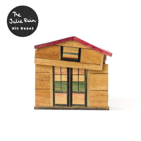 The Julie Ruin - Hit Reset  CD / LP / LP (White Vinyl)