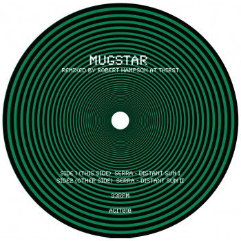 Mugstar - Serra Distant Sun Remixes CD