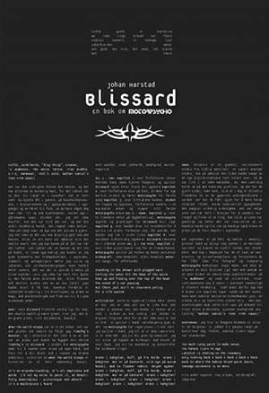 MOTORPSYCHO - Blissard Book (English) by Johan Harstad