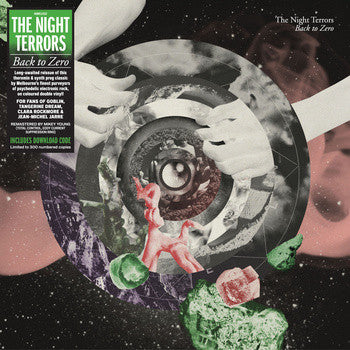 THE NIGHT TERRORS - BACK TO ZERO  2LP