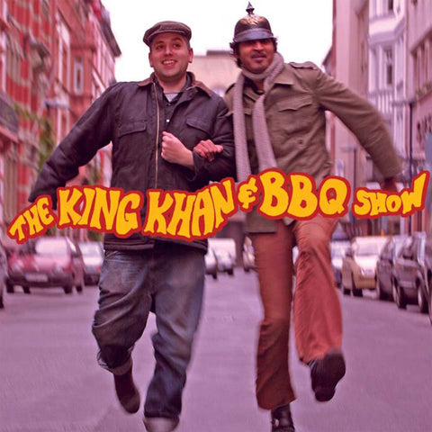 KING KHAN & BBQ SHOW - S/T LP W/ 12""