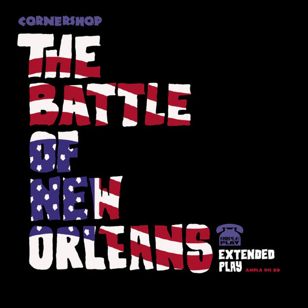 Cornershop - The Battle of New Orleans EP - CD