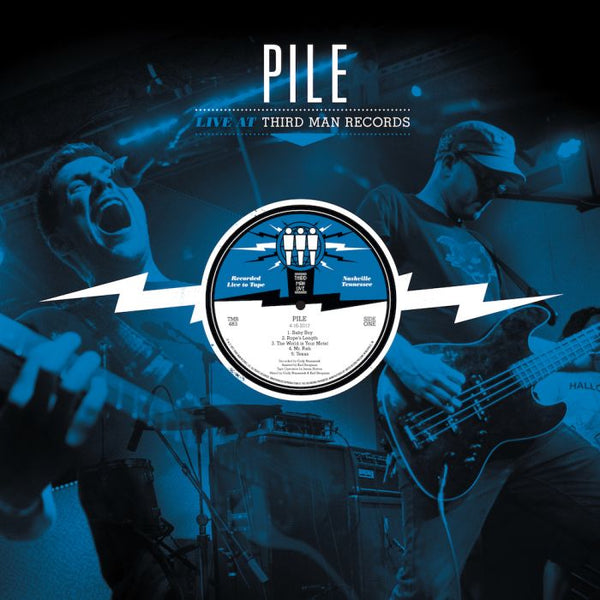Pile - Live at Third Man Records - LP