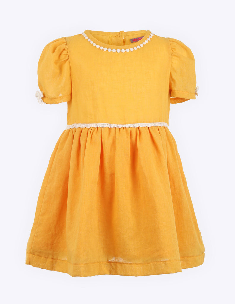Cap Sleeve Dress Tangerine