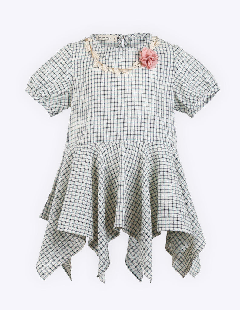 Frilled Flannel Dress
