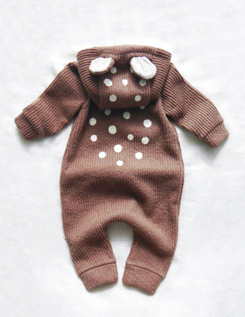 b1e579c8c900 Bambi Winter Hooded Jumpsuit Brown