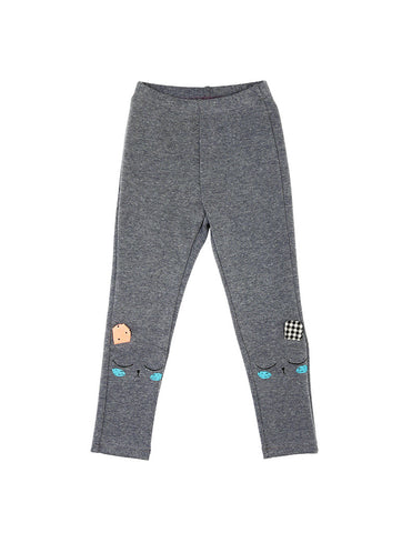 Bear Leggings Grey
