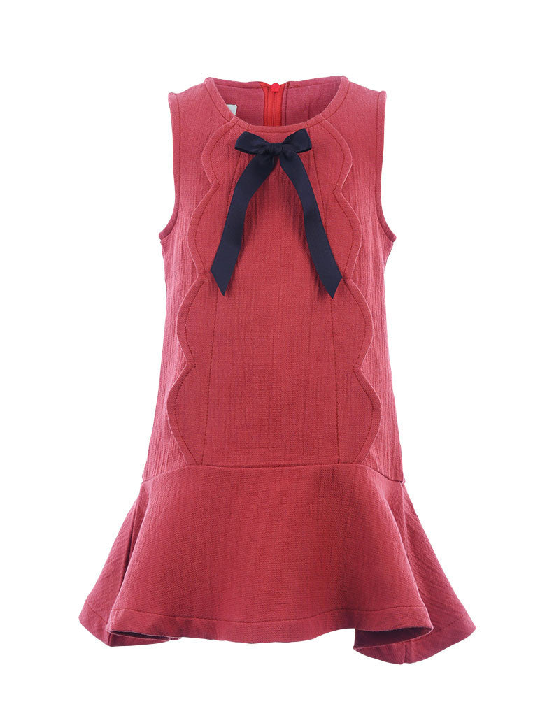 Bow Dress Red