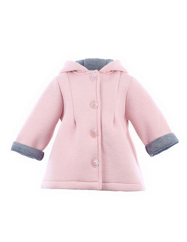 Bunny Hooded Jacket Pink