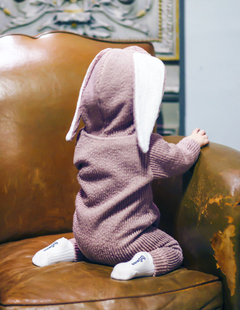 f0f7cac9f37c Bunny Winter Hooded Jumpsuit Pink