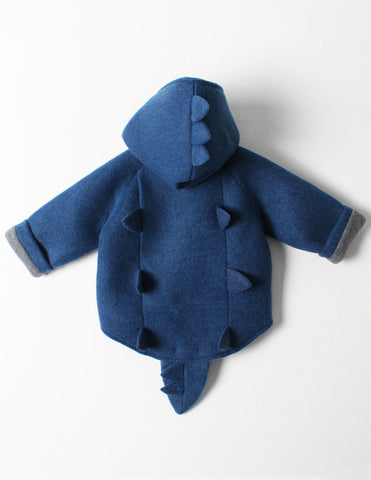 Dinosaur Jacket Blue