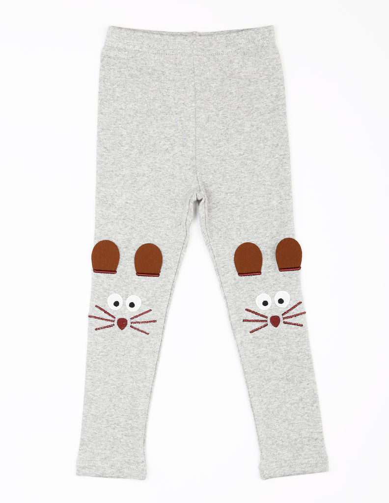 Mouse Leggings Grey