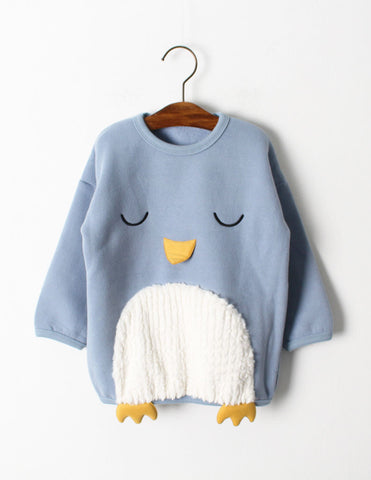 Penguin Jumper Blue