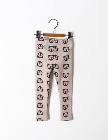 Penguin Leggings Beige