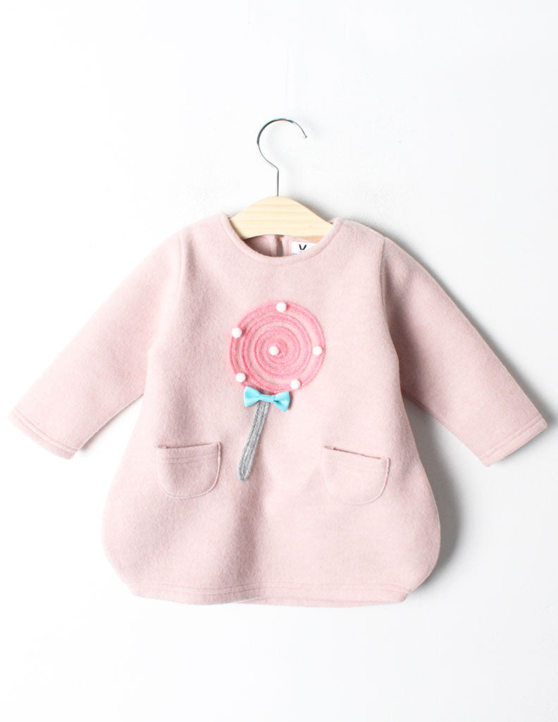 Pom-Pom Lollipop Tunic Pink