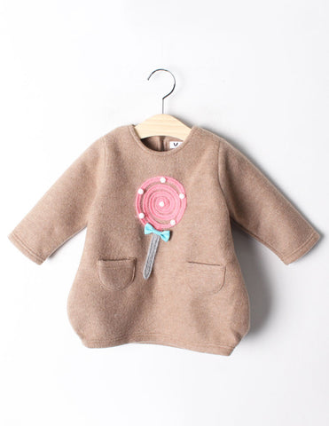 Pom-Pom Lollipop Tunic Tan