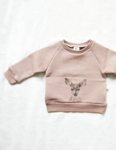 Printed Deer Jumper