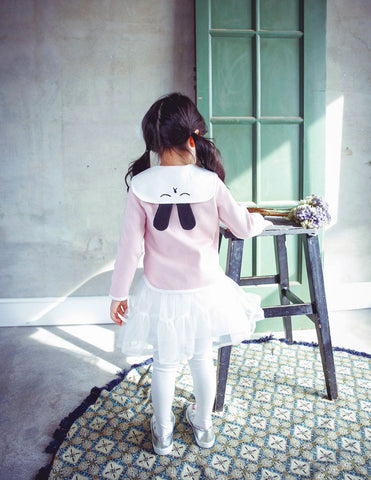 Bunny Ear Blouse Pink