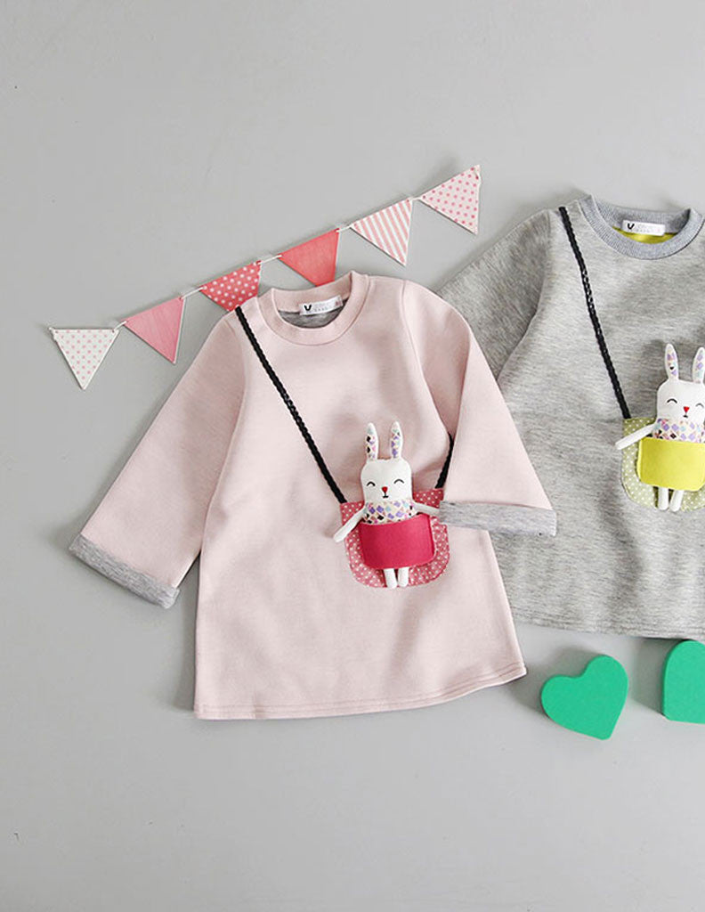 Bunny Pocket Tunic Pink