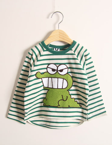 Dinosaur Long Sleeve T-Shirt Green