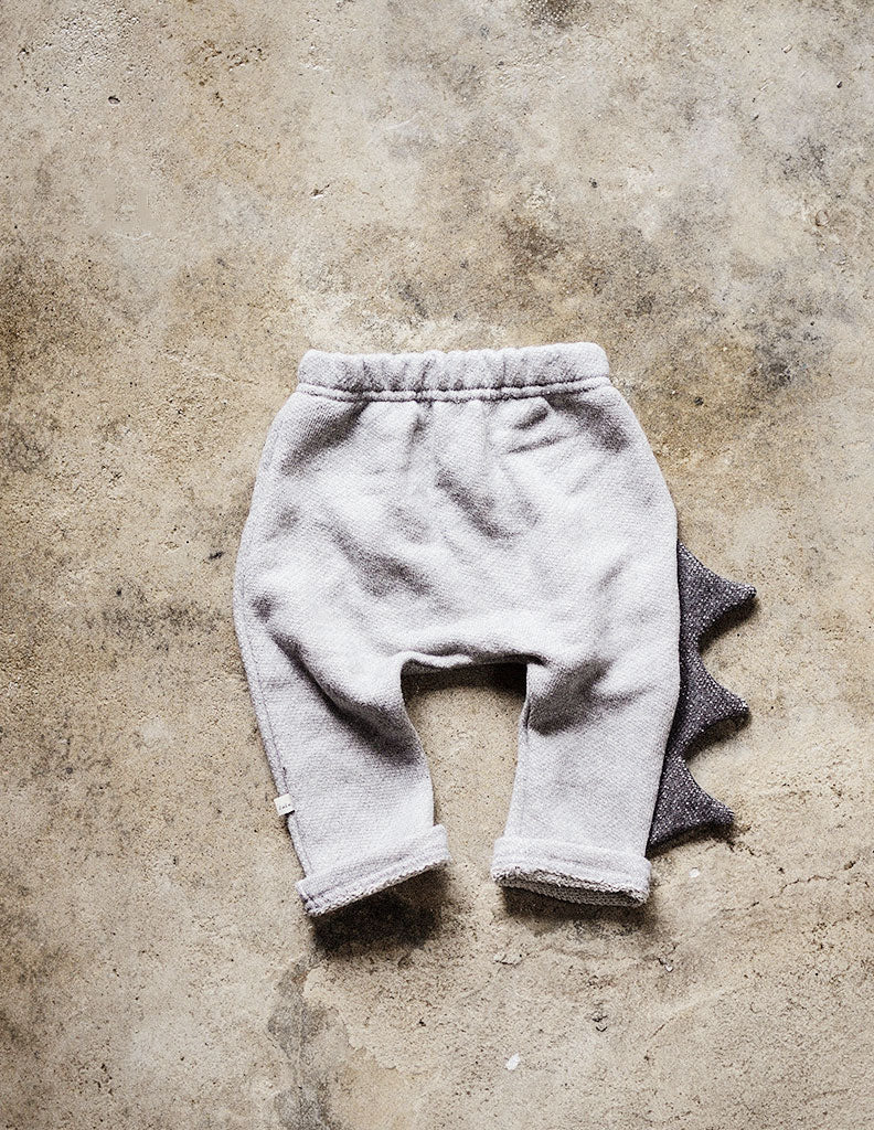 Dinosaur Trousers Light Grey