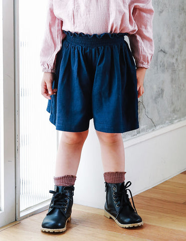 Double Skirt Pants Navy