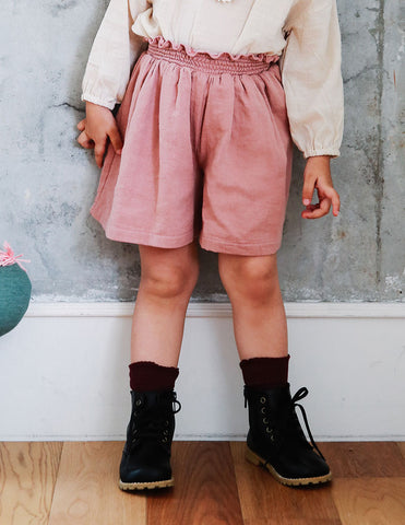 Double Skirt Pants Pink