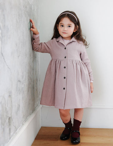Hena Long Coat Lilac