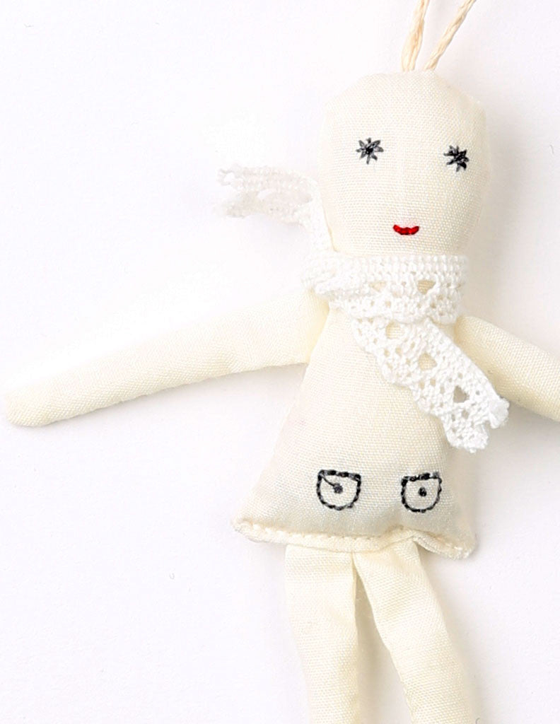 Lace Doll Necklace