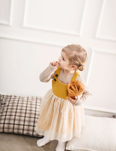 Pati Dress Ochre