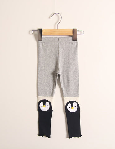 Penguin Leggings Grey