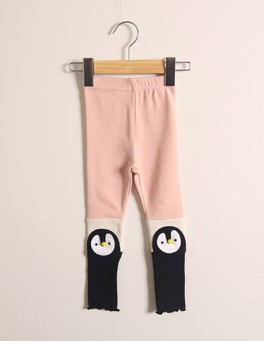 Penguin Leggings Pink